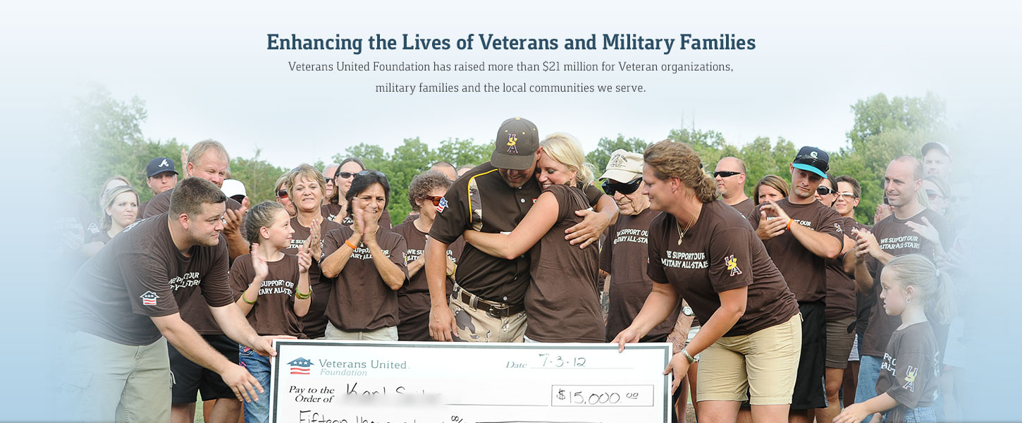 Working to enhance the lives of veterans and military families nationwide